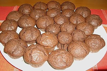 Schokoladen Muffins 15