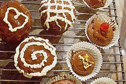Schokoladen Muffins 24