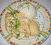 Würziges Hühnerfrikassee (Bild)