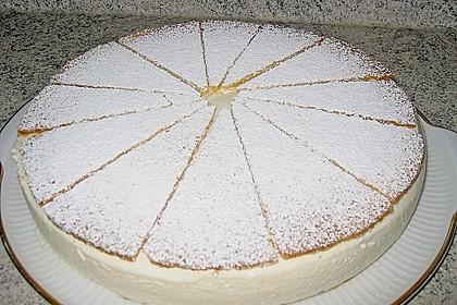 Käse - Sahnetorte 3