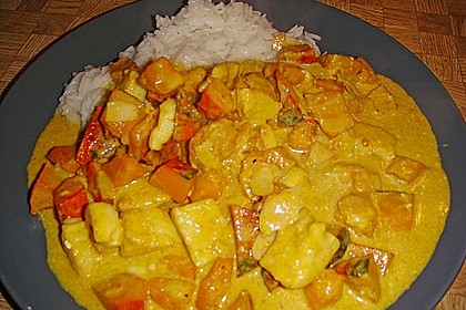 Fisch - Curry 1