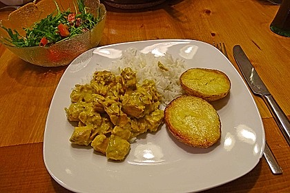 Fisch - Curry