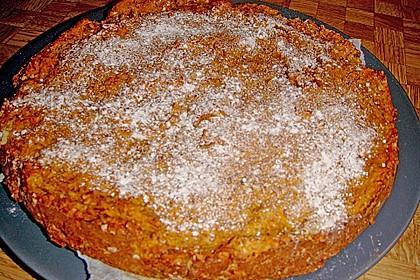 Möhrenkuchen ohne Fett 15