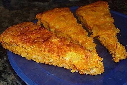 Möhrenkuchen ohne Fett 7