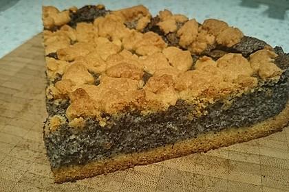 Mohn-Pudding-Kuchen (Bild)