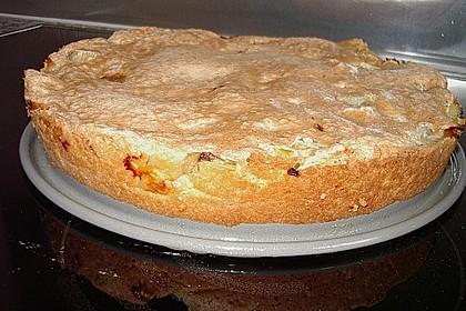 Rhabarberkuchen mit Rahmguß 6