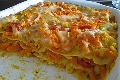 Möhren-Lasagne 12