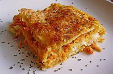 Möhren-Lasagne