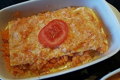 Möhren-Lasagne 11