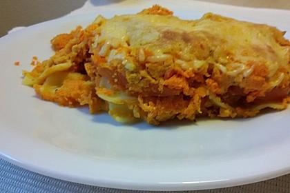 Möhren-Lasagne 8