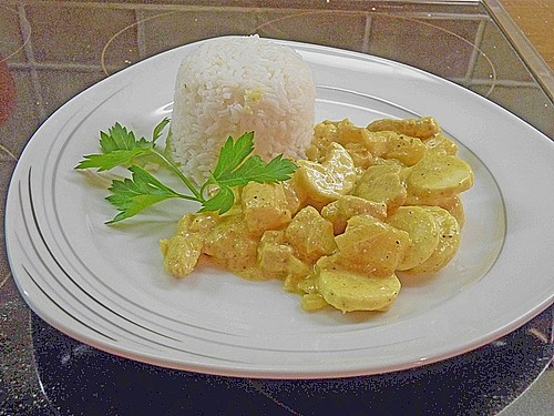 Bananen - Puten - Curry 16