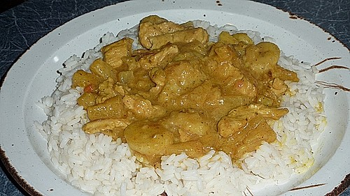 Bananen - Puten - Curry 17