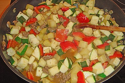 Zucchinipfanne 6