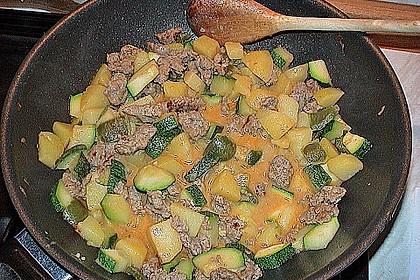 Zucchinipfanne 10