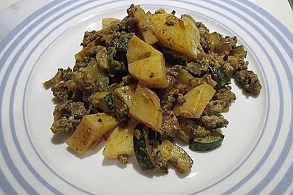 Zucchinipfanne 4