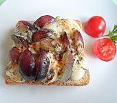 Käse - Trauben - Toast (Bild)