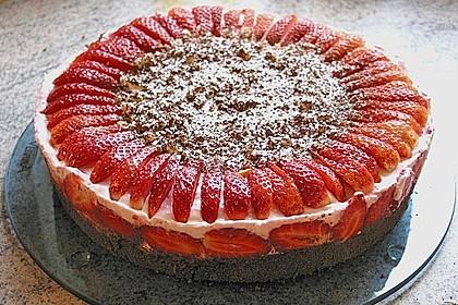 Erdbeer - Espresso - Torte 1