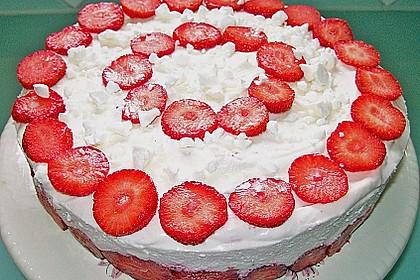 Erdbeer - Espresso - Torte