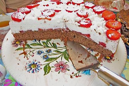 Erdbeer - Espresso - Torte 4