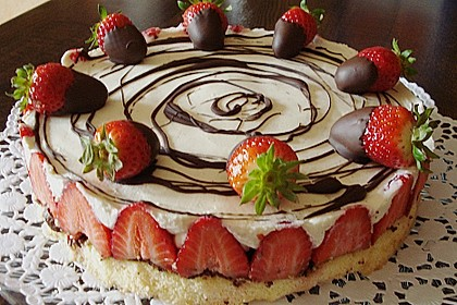 Erdbeer-Mascarpone-Torte 31