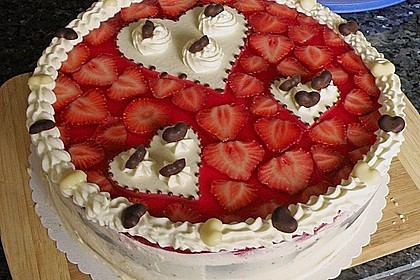 Erdbeer-Mascarpone-Torte 3