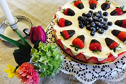 Erdbeer-Mascarpone-Torte 17