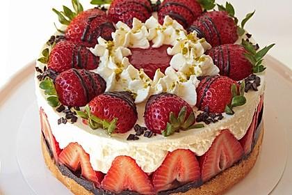 Erdbeer-Mascarpone-Torte 1