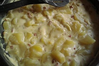 Bechamel - Kartoffeln 8