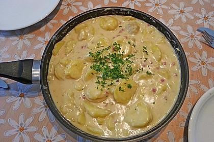Bechamel - Kartoffeln 1