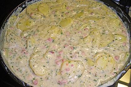 Bechamel - Kartoffeln 5