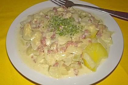 Bechamel - Kartoffeln 12