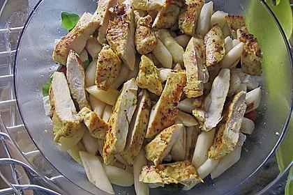 Salatvariation mit gebratenem Spargel 7