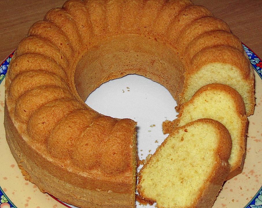 Kuchen backen mit 4 eiern