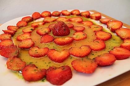 Erdbeer - Carpaccio