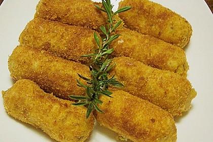 Kartoffel - Nuss - Kroketten