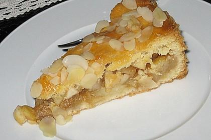 Apfelkuchen, gedeckt 21
