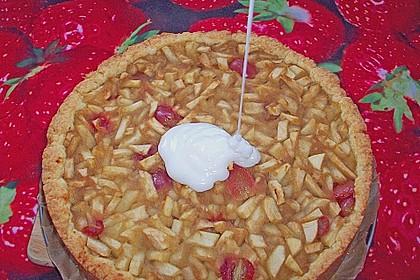 Apfelkuchen, gedeckt 44