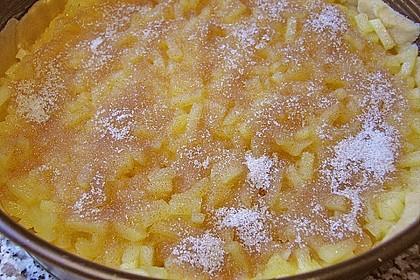 Apfelkuchen, gedeckt 50