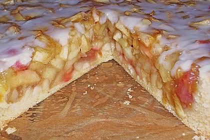 Apfelkuchen, gedeckt 28