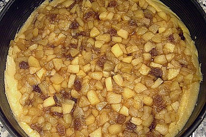 Apfelkuchen, gedeckt 51
