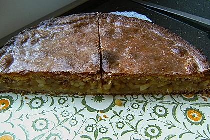 Apfelkuchen, gedeckt 36