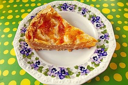 Apfelkuchen, gedeckt 33