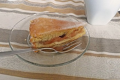 Apfelkuchen, gedeckt 23