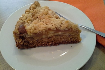 Apfelkuchen mit Streuseln 2