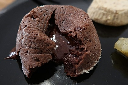 Schokoladenkuchen mit flüssigem Kern à la Italia 2