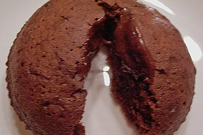 Schokoladenkuchen mit flüssigem Kern à la Italia 139