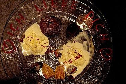 Schokoladenkuchen mit flüssigem Kern à la Italia 121