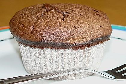 Schokoladenkuchen mit flüssigem Kern à la Italia 77