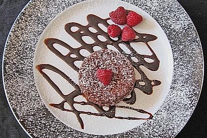 Schokoladenkuchen mit flüssigem Kern à la Italia 16