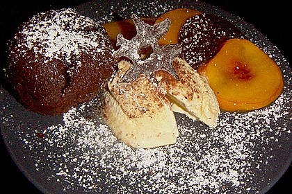 Schokoladenkuchen mit flüssigem Kern à la Italia 72
